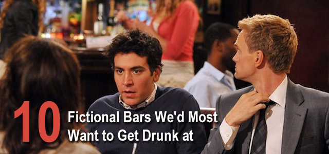 best fictional tv and movie bars
