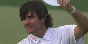 Bubba Watson Hit One Of The Most Insane Trick Shot Drives You'll Ever See