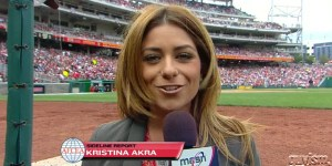 Meet Kristina Akra, the new Nationals sideline reporter