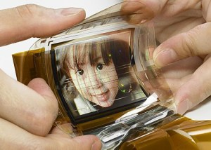 flexible organic display