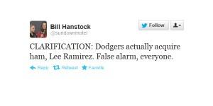 Hanley Ramirez traded to Dodgers