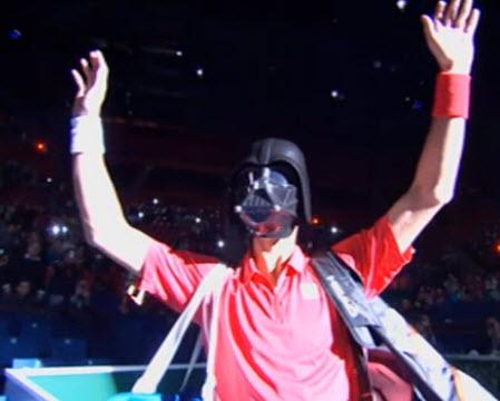Novak Djokovic Darth Vader