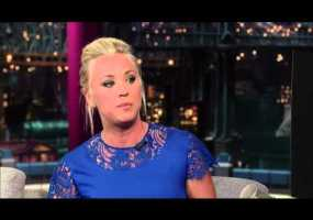 Video thumbnail for youtube video Kaley Cuoco on The Late Show with David Letterman - Guyism