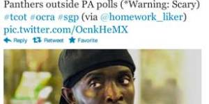 Republican Twitter actually thinks Omar from 'The Wire' voted last night