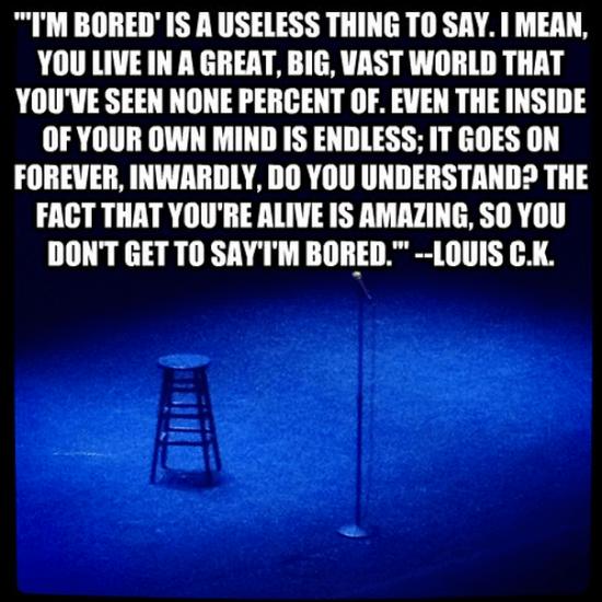 louis c.k. quote