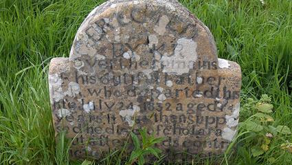 Cholera Grave