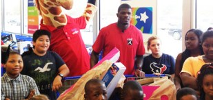 Andre Johnson shopping spree