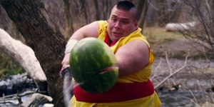 'Fruit Ninja' in the real world is everything that's right about the Internet