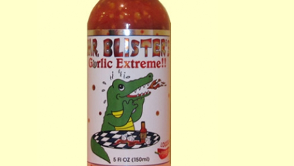 Mr Blisters Hot Sauce