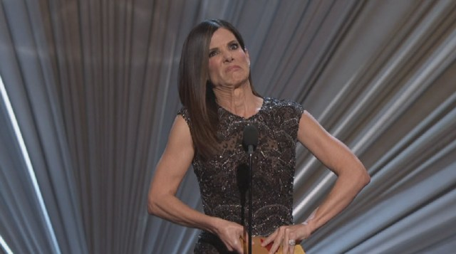 Sandra Bullock face