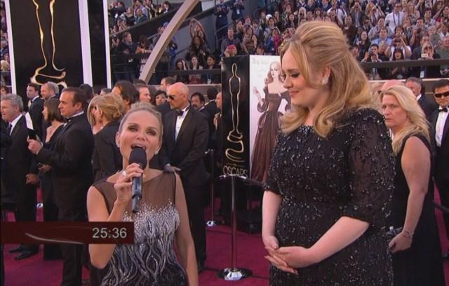 Kristin Chenoweth and Adele
