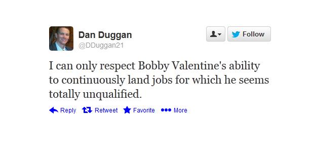 bobby valentine