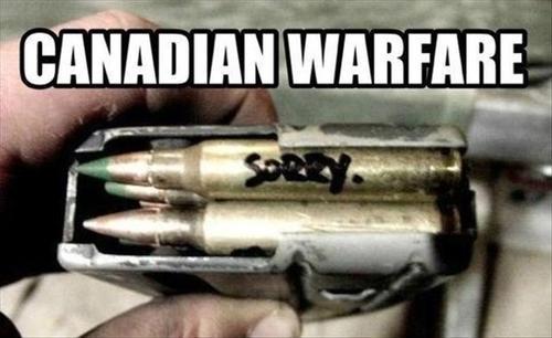"""""""canadian warfare"""""""