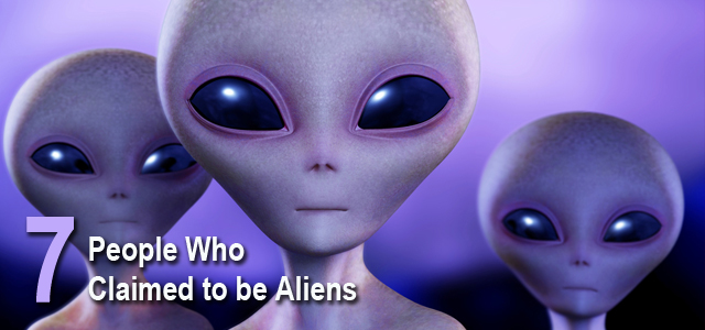 People Who Claimed to be Aliens