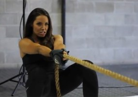 Trish Stratus New Balance ad
