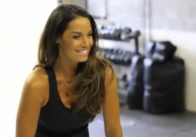 Trish Stratus workout