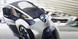 Toyota's i-ROAD concept looks silly, until you see it corner