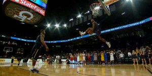 GIFgasm: Doug Anderson wins dunk contest with two unbelievable throw-downs