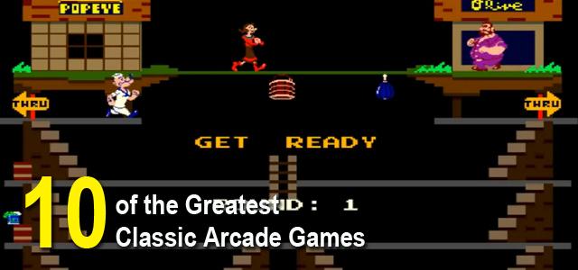Greatest Classic Arcade Games