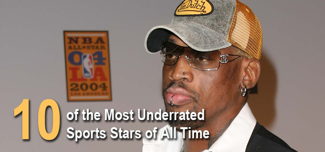 Most Underrated Sports Stars All Time