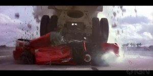 Montage of 'Fast & Furious' franchise car crashes