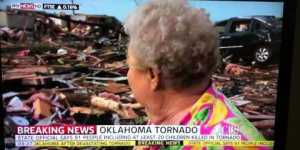Oklahoma tornado survivor reunited with dog during live interview