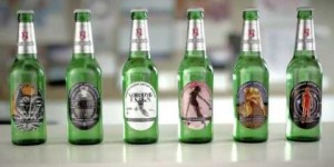 Beck's gets artsy with new beer bottles