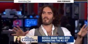 Russell Brand craps all over wildly unprepared MSNBC hosts