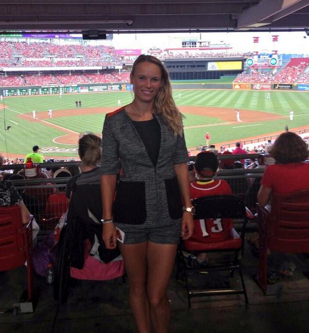 Twitter/Caroline Wozniacki