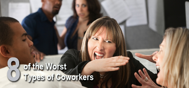 worst types of coworkers