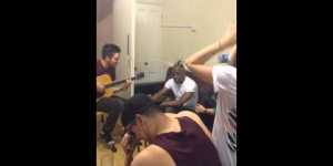 Coolio goes to college kid's house, does acoustic 'Gangsta's Paradise'