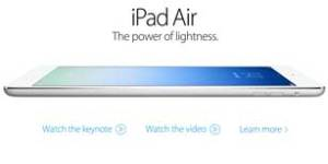 If commercials for the iPad Air were honest