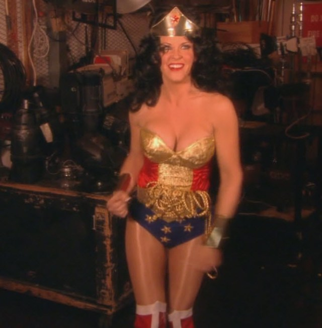 Jenny McCarthy Wonder Woman