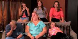 Steve Harvey could not be more disgusted to interview Honey Boo Boo and family