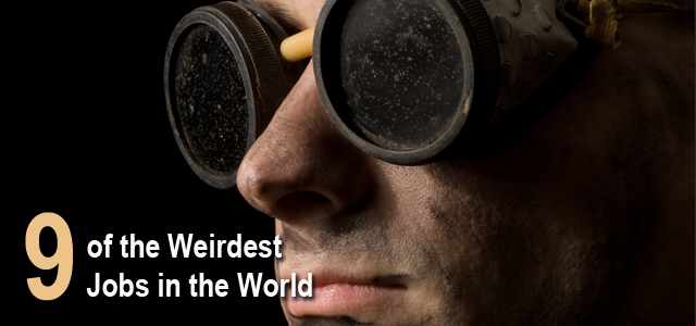 weirdest jobs in the world