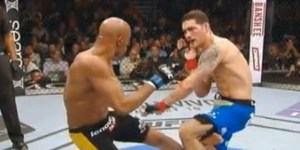 Do NOT watch this video of Anderson Silva breaking his leg