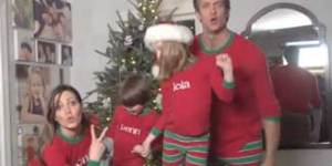 This family has the greatest — and whitest — video Christmas card ever