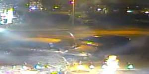 Watch as a drunk underage driver smashes into a parked car then runs away like an absolute idiot