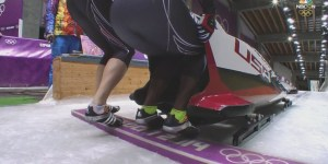 NBC goes with the always exciting 'butt cam' during bobsled coverage