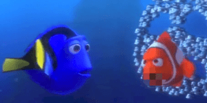 Unnecessarily censored 'Finding Nemo' is pretty bleeping funny