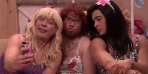 Jimmy Fallon, Seth Rogen and Zac Efron Dressed in Drag for Big Laughs