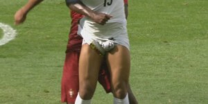 Ghana player's penis exposed on pitch, produces best mashups we've ever seen