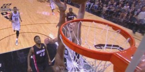 Manu Ginobili pretty much destroyed Chris Bosh