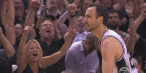 Nobody had a better time at the NBA finals than Michelle Beadle