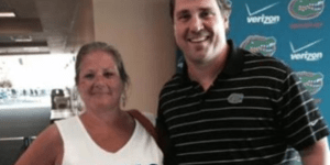 Will Muschamp Takes Picture with Gators Fan Who Has Very Odd Sexual Fetishes
