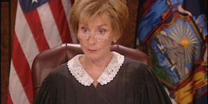 Guy gives Judge Judy the best answer ever for committing a crime and it's only one word