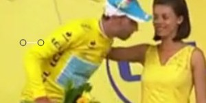 Tour de France stage winner tries to kiss podium girl, gets friendzoned