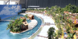 German water park built inside military blimp hanger is übermensch of theme parks