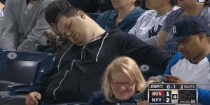 Sleeping Yankees Fan Sues ESPN for $10 Million for Being Mean to Him on Television