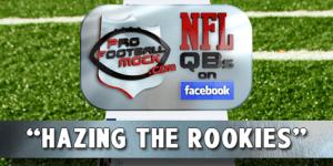 NFL QB's Talking Trash On Facebook: Rookie Hazing Edition